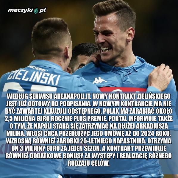 Nowe kontrakty Polaków