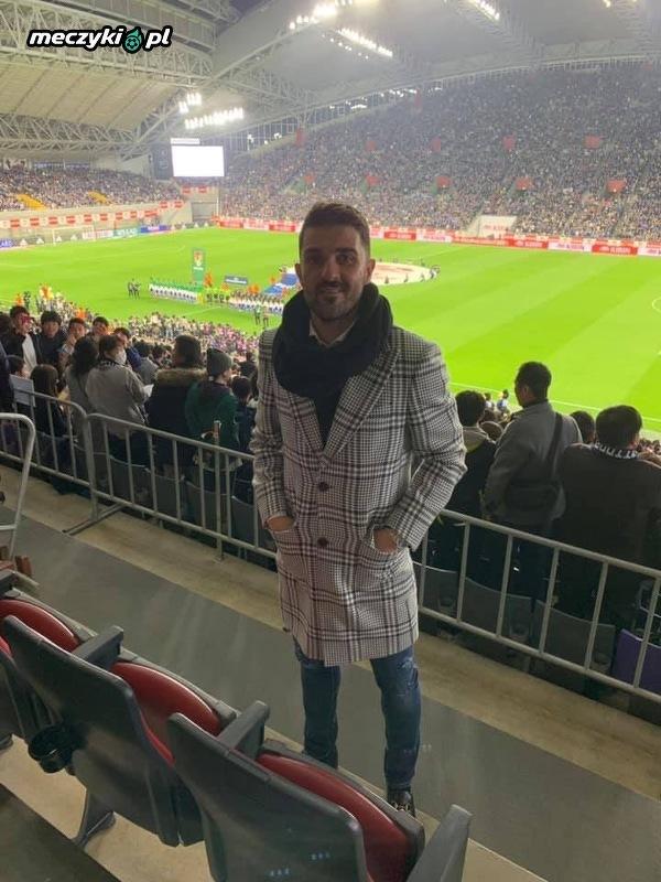 Villa na meczu Japonii z Boliwią