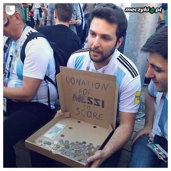 Kbice reprezentacji Argentyny w tym momencie