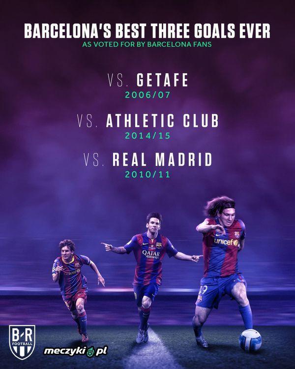 Fani Barcelony wybrali 3 naładniejsze gole w historii