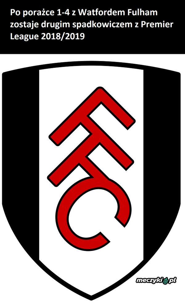 Fulham spada z ligi