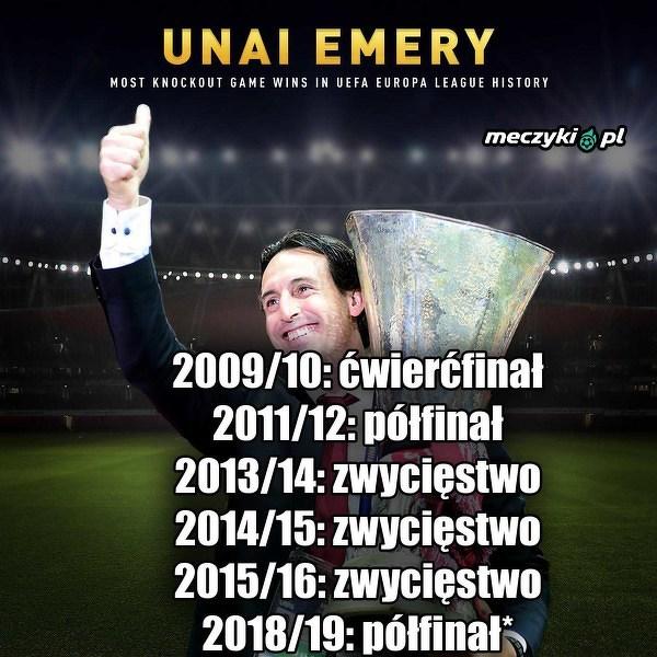 Emery blisko czwartego tytułu