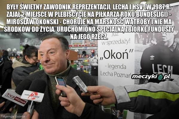 Zbiórka dla byłego reprezentanta Polski