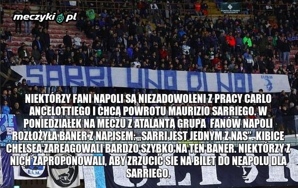 W Napoli wciąż pamiętają o Sarrim
