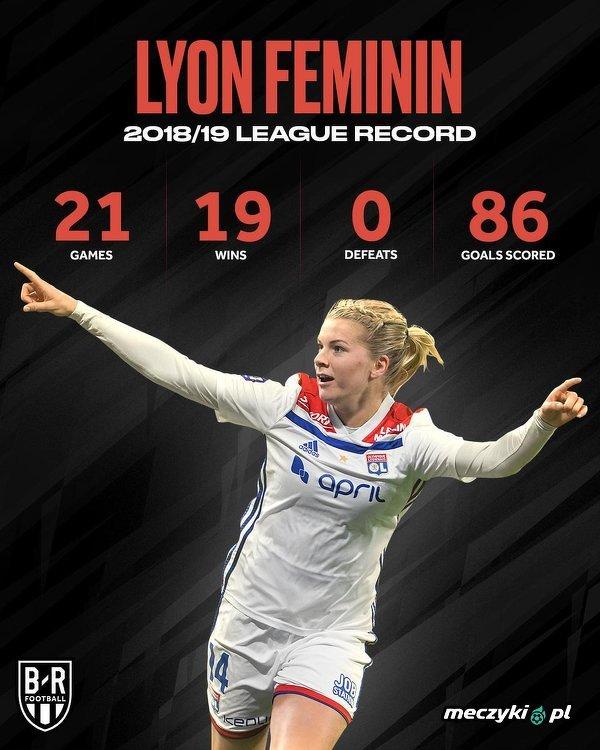 Piłkarki Lyonu 13. raz z rzędu zdobyły mistrzostwo Francji