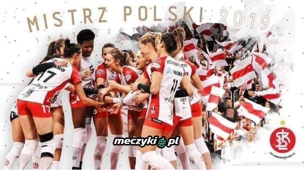 Siatkarki ŁKS mistrzyniami Polski