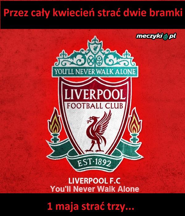 Pech Liverpoolu