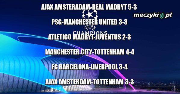 Najlepszy sezon w historii Ligi Mistrzów!