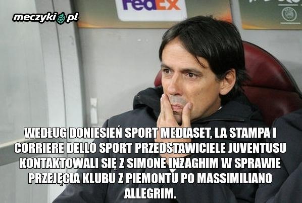 Inzaghi kandydatem na trenera Juventusu