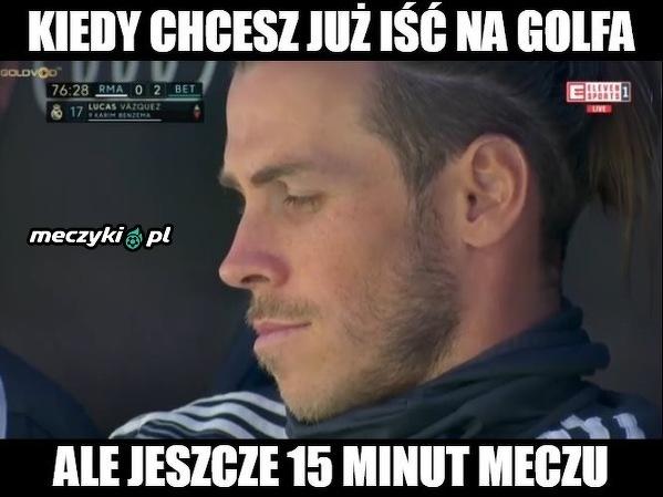 Bale podczas wczorajszego meczu