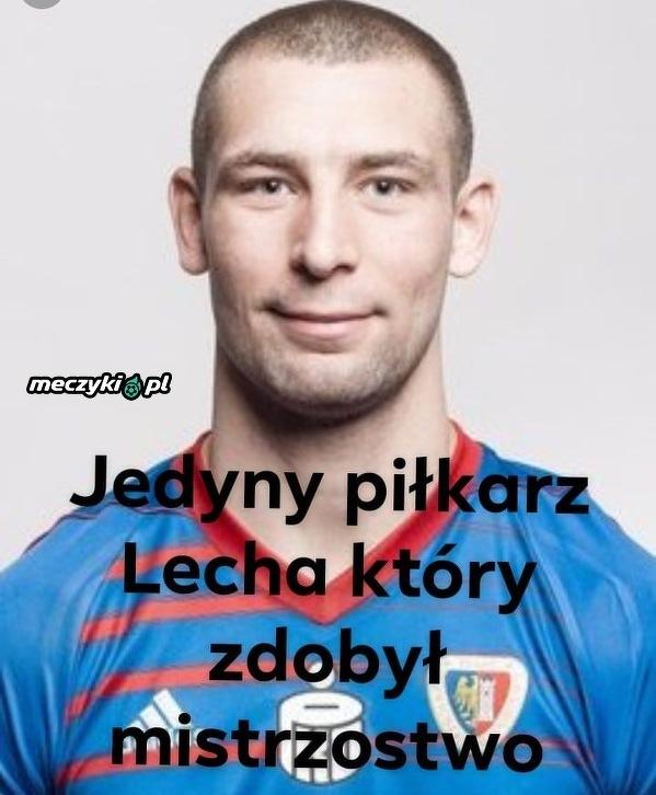 Paweł Tomczyk - jedyny piłkarz Lecha który wygrał mistrzostwo