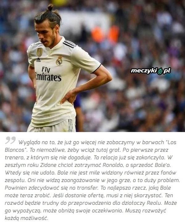Dlaczego Bale jest skończony w Realu?