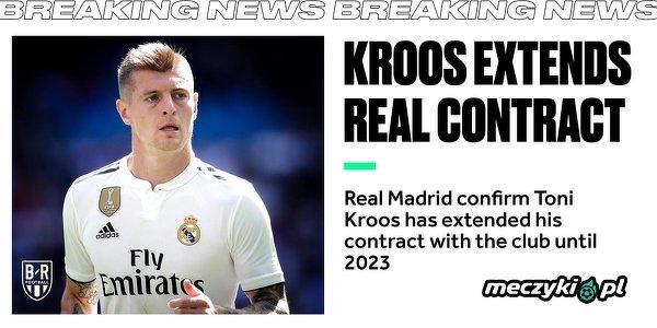 Toni Kroos przedłużył kontrakt z Realem do 2023 roku