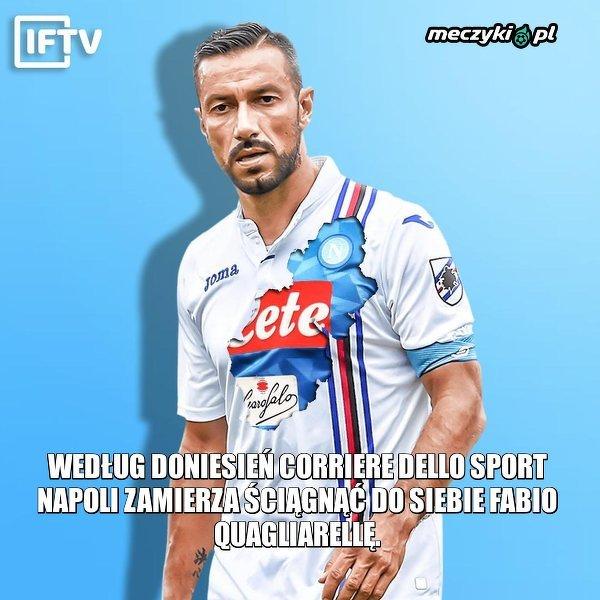 Fabio Quagliarella może ponownie zagrać w Napoli