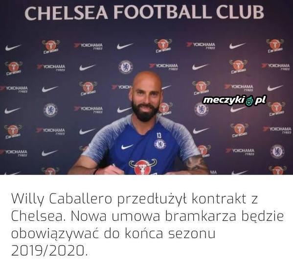 Caballero na dłużej w Chelsea