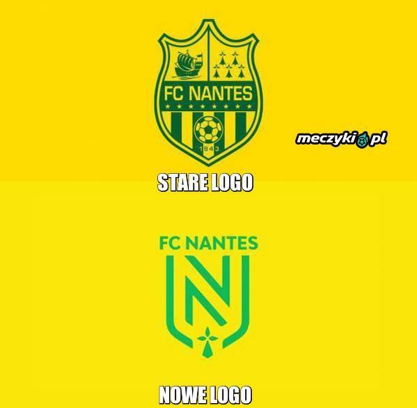 Nowe logo FC Nantes