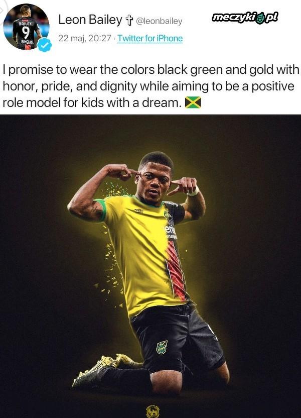 Leon Bailey wybrał grę dla Jamajki