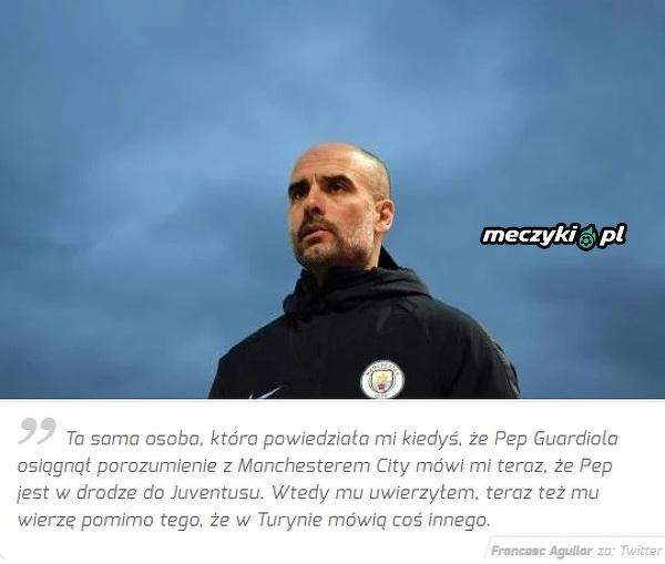 Znany dziennikarz o Guardioli w Juve