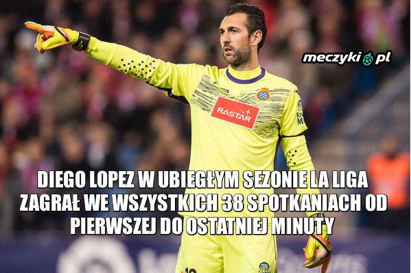 Diego Lopez grał wszystko w tym sezonie