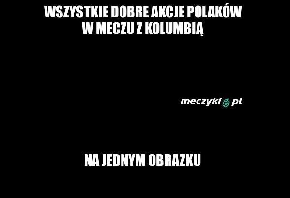 Najlepsze podsumowanie wczorajszej gry Polaków