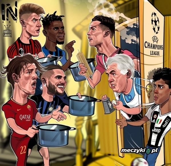 Wielu chętnych w Serie A, aby posmakować gry w Lidze Mistrzów w przyszłym sezonie