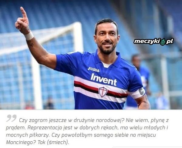 Quagliarella powołałby samego siebie do reprezentacji