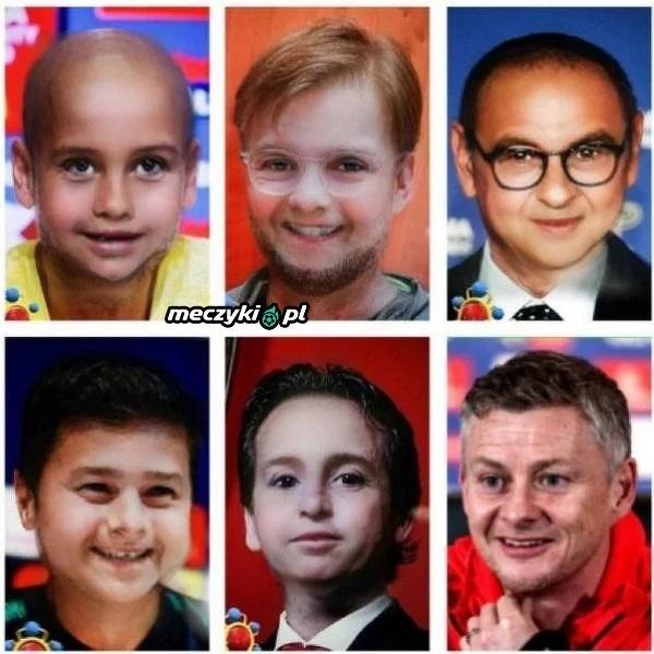 Tak wyglądaliby trenerzy czołowych angielskich drużyn z twarzami dzieci