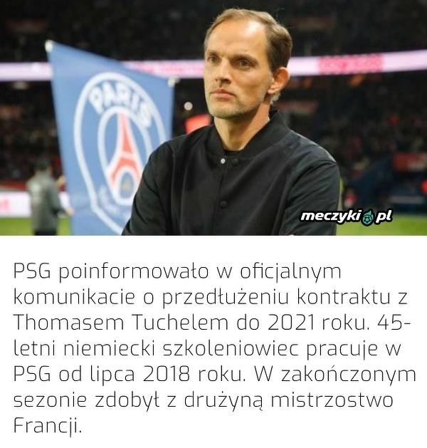 PSG przedłużyło kontrakt z Tuchelem