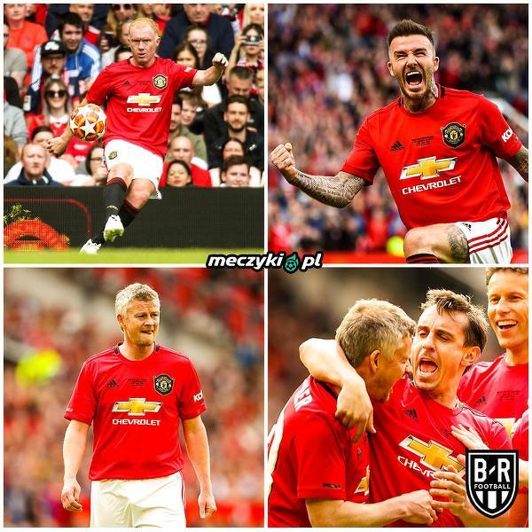 Legendy Manchesteru United nadal w formie
