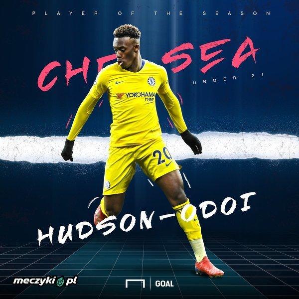 Hudson-Odoi najlepszym młodym piłkarzem Chelsea