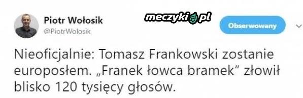 Nowa kariera Frankowskiego