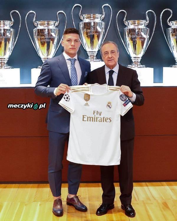 Luka Jović zaprezentowany w Realu Madryt