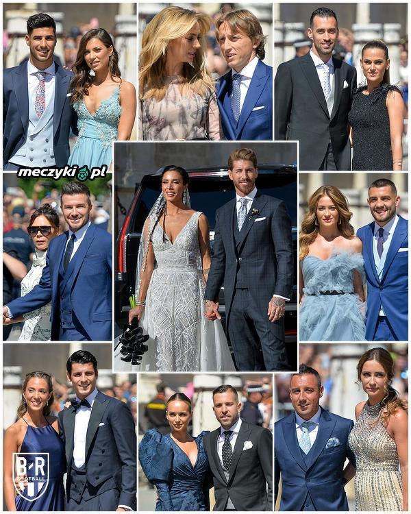 Gwiazdy na ślubie Sergio Ramosa