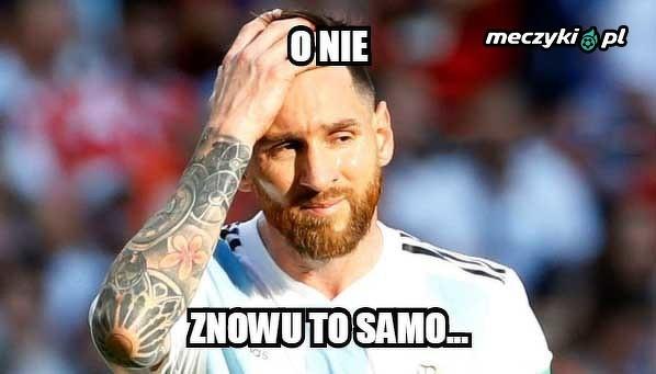 Refleksja Messiego po meczu z Kolumbią