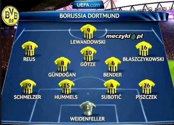 Dawno temu w Borussi Dortmund