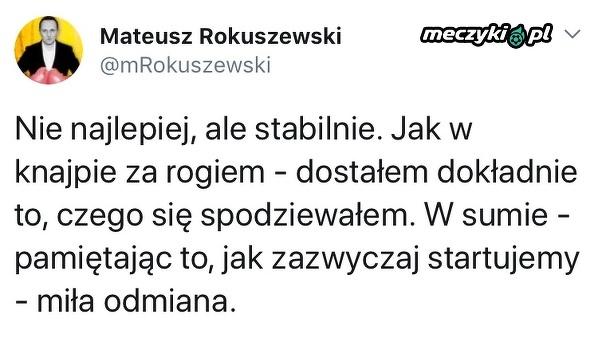 Podsumowanie pierwszej połowy meczu Polska-Belgia