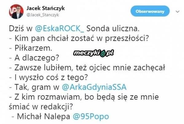 Dziennikarz nie rozpoznał Michała Nalepy