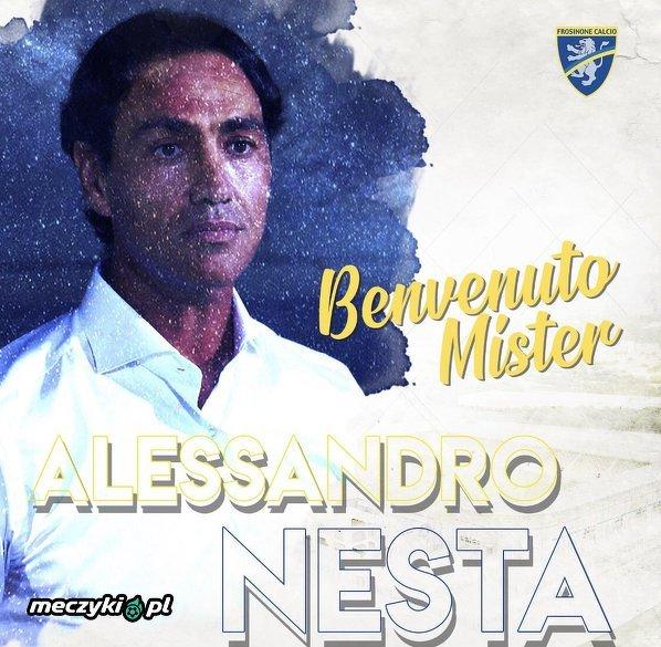 Alessandro Nesta trenerem Frosinone
