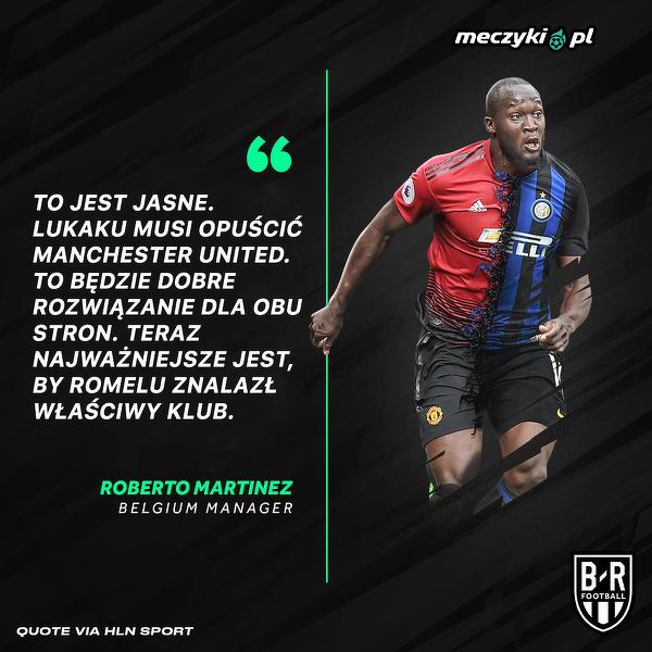 Roberto Martinez o sytuacji Romelu Lukaku