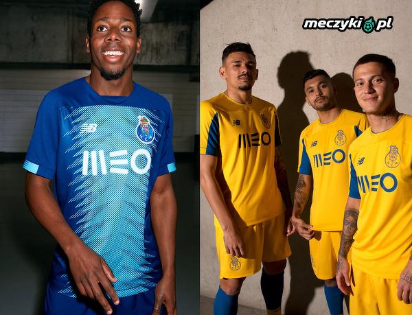 Nowe stroje FC Porto na przyszły sezon