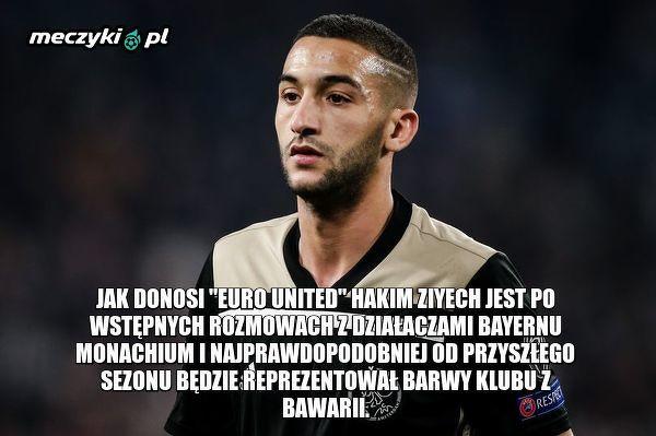 Z Ajaxu do Bayernu?