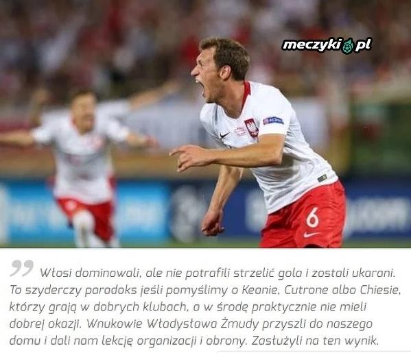 """""""La Gazzetta dello Sport"""" o zwycięstwie Polski z Włochami"""