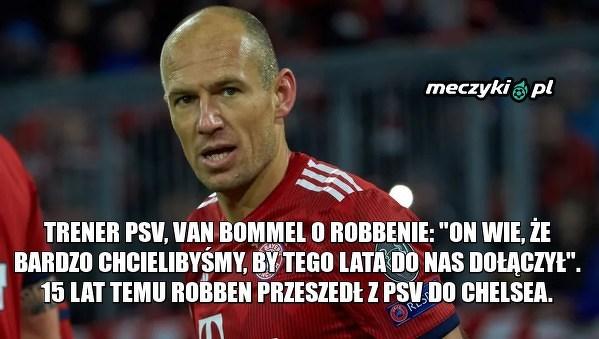 Robben wróci do PSV?