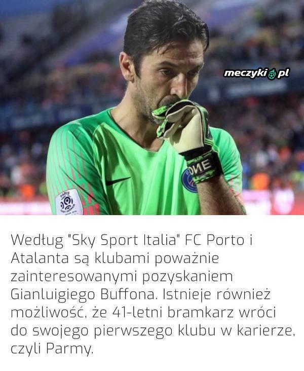 320365d57134cf Gdzie zagra Buffon? - Sportbuzz Meczyki.pl