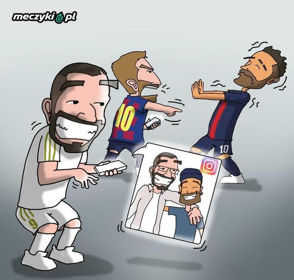 Zdjęcie Neymara z Benzemą musiało wkurzyć Messiego