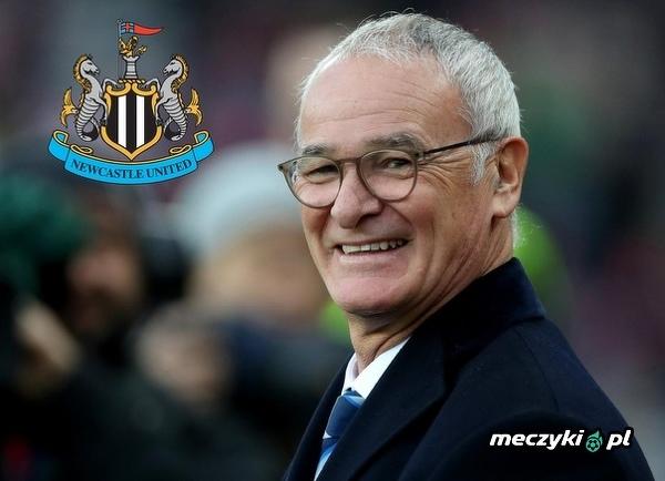 Claudio Ranieri zainteresowany pracą w Newcastle United