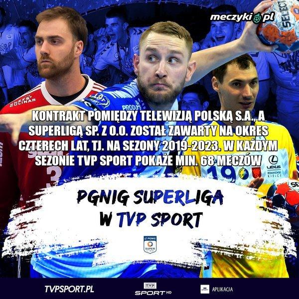 PGNiG Superliga w TVP Sport