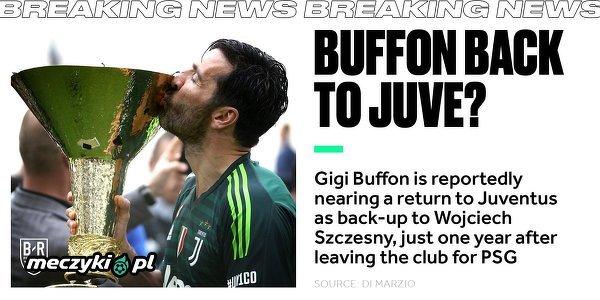Buffon wróci do Juventusu?
