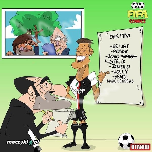 Ronaldo już wie kogo ściągnąć do Juventusu