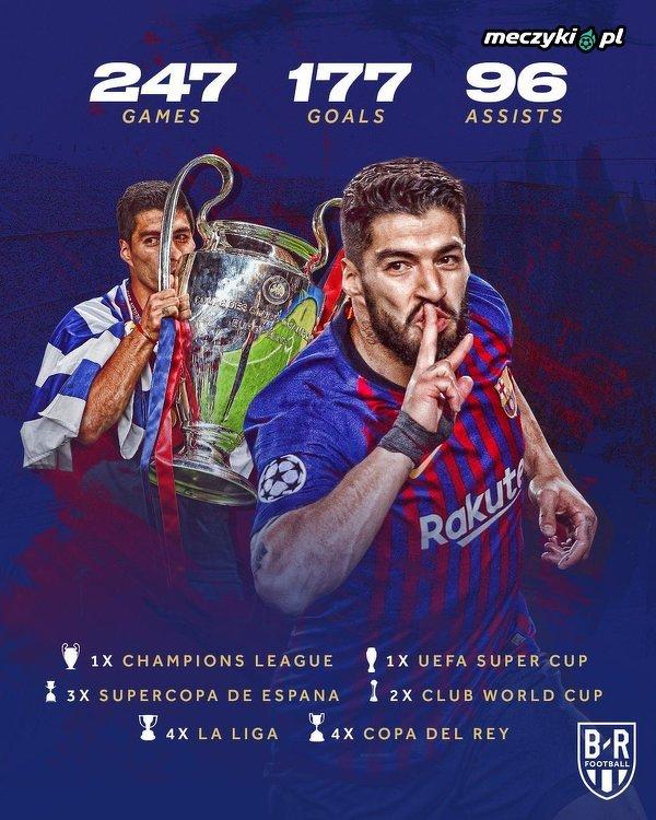 Dokładnie 5 lat temu Luis Suarez został piłkarzem Barcelony